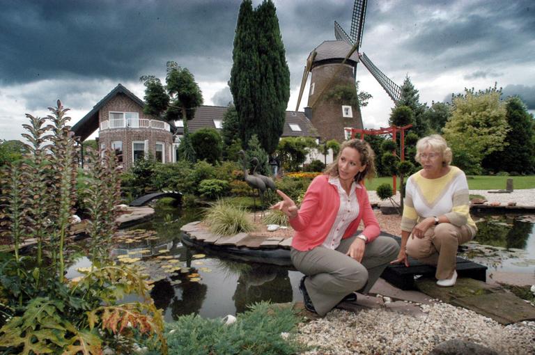 Szenefoto während der Dreharbeiten zu Sendung Gartengeschichten im WDR